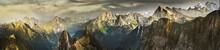 Great Panorama Of Switzerland ...