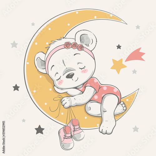 wektorowa-ilustracja-sliczny-dziecko-niedzwiedz-spi-na-ksiezyc-wsrod-gwiazd