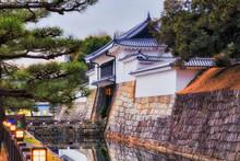 JP Kyoto Nijo Gate Moat