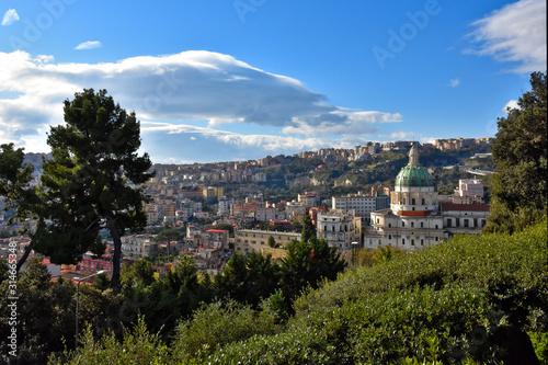 Valokuva View of the Capodimonte public park in Naples, Italy