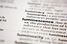 Word Or Phrase Luminescence In...