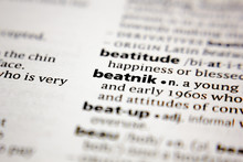 Word Or Phrase Beatnik In A Di...