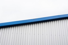Metal Corrugated Sheets On A B...
