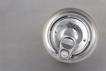 Aluminium Can Closeup