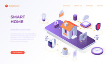 Landing Page For Smart Home