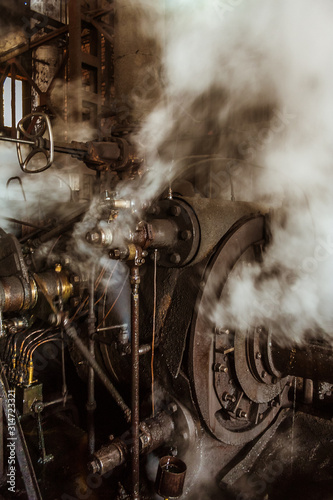 Wallpaper Mural Engine of sugar mill