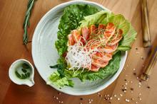 Fresh And Delicious Sashimi Sa...