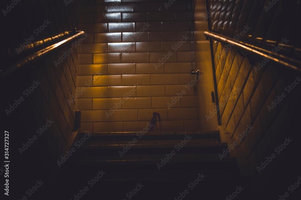 Fototapeta light at the end of tunnel