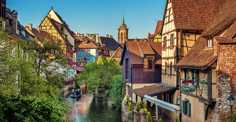 Colmar Old town, Alsace, France