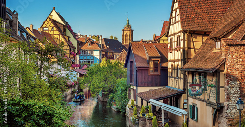 Colmar Old town, Alsace, France Wallpaper Mural