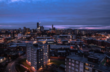 Overlooking Leeds City Centre ...