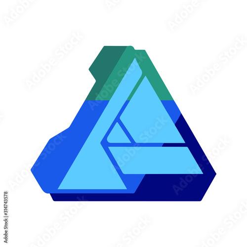 Photo Affinity designer brand logo