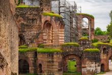 Germany - Roman Bath Ruins - Trier