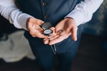 A Man, A Businessman In A Suit...