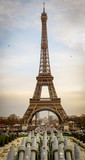 Fototapeta Fototapety Paryż - eiffel tower in paris