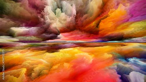 Tablou Canvas The Escape of Inner Spectrum