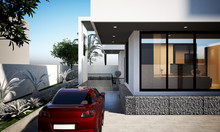 3d Render Luxury Villa House