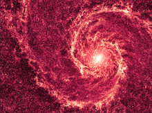 Galaxy In The Universe Closeup...
