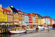 Leinwanddruck Bild - Nyhavn Kopenhagen Dänemark