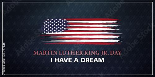 Martin Luther King Jr Fototapet