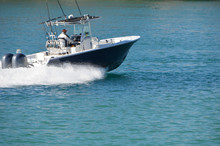 Sport Fishing Boat Powered By ...