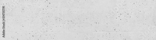 Obraz White Wall concrete background. Old cement texture cracked, White, Grey vintage wallpaper abstract grunge background - fototapety do salonu
