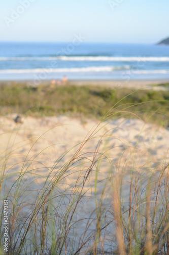 Photo Playa arena y el mar