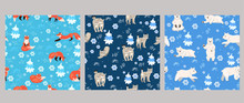 Set Of Seamless Patterns With ...