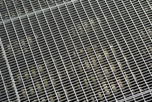 The Surface Of The Metal Grid