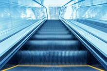 Modern Escalator Move Background