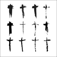 Set Of The Crosses Of Christ P...