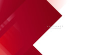 Modern Dark Red Grey White Lin...