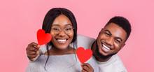 Portrait Of Black Couple In Lo...