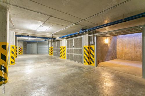 Garage Fototapeta