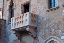 The Balcony Of Juliet In Verona