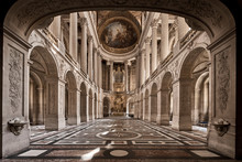 Interior Of The Cathedral Of Paris