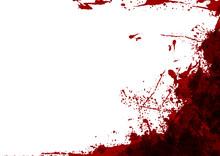 Abstract Vector Splatter Red C...