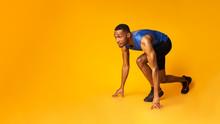 Confident Afro Guy Preparing F...