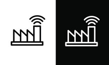 Industry Icon Vector Design Bl...