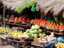 African Fruit Market