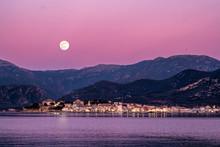 Full Moon Rising Over St Flore...