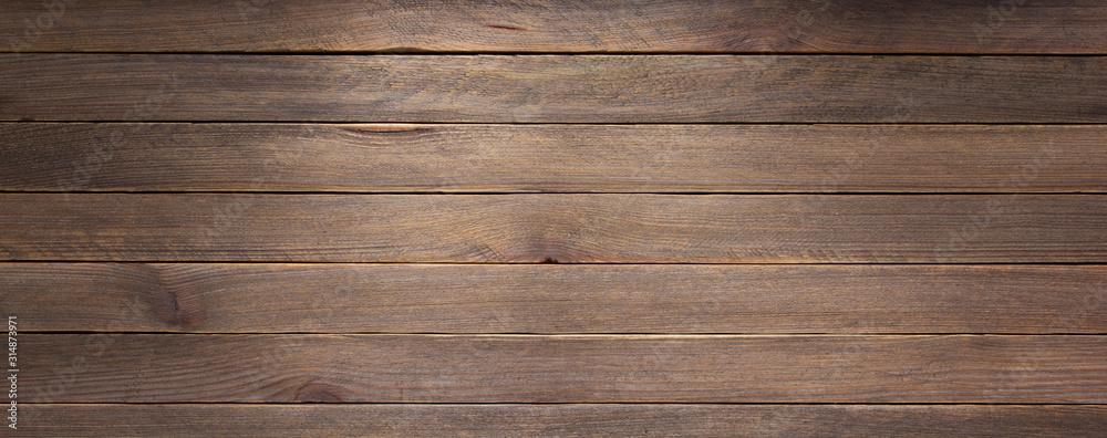 Fototapeta wooden plank board background
