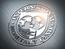 IMF International Monetary Fund Symbol Or Sign.