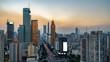 Urban skyline of Shenzhen, China
