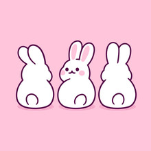 Cute Cartoon Bunnies