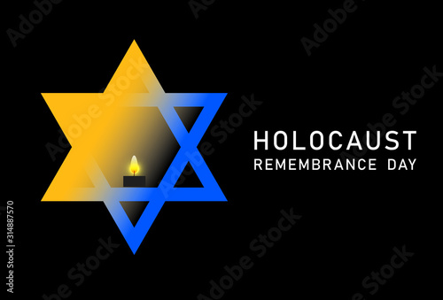 Holocaust Remembrance Day Wallpaper Mural