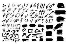 Set Of Hand Drawn Geometric Sh...
