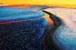 canvas print picture - Fremde Welt