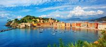 Sestri Levante, Italy, A Popul...
