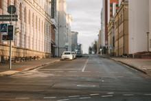 Empty City Defocus The Road, C...